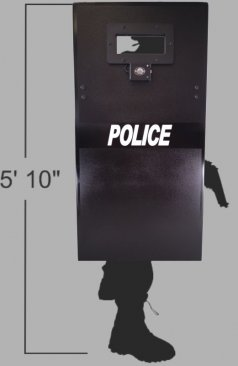 Stand-off Shield Ballistic Shield Coverage Area